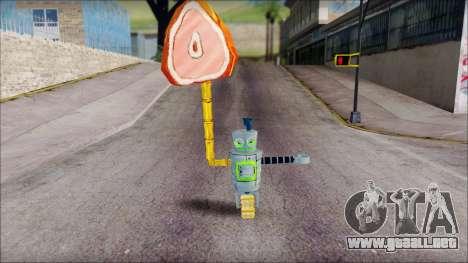Hamsmp from Sponge Bob para GTA San Andreas tercera pantalla