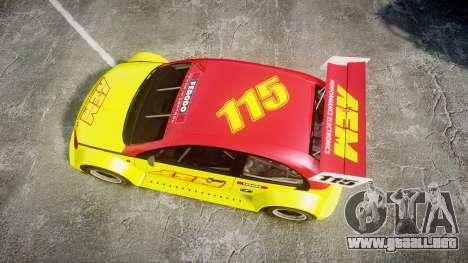 Zenden Cup AEM para GTA 4 visión correcta