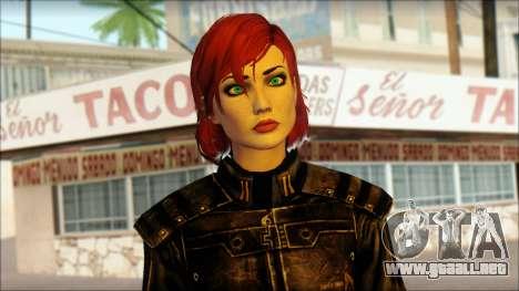 Mass Effect Anna Skin v5 para GTA San Andreas tercera pantalla
