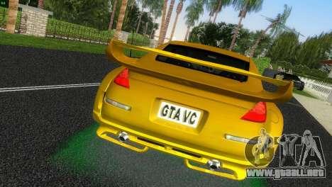 Nissan 350Z Veiside Chipatsu para GTA Vice City vista lateral izquierdo
