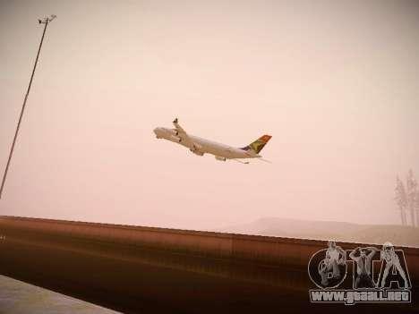 Airbus A340-300 South African Airways para visión interna GTA San Andreas