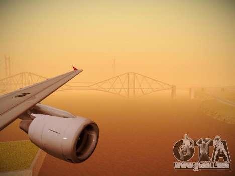 Airbus A320-214 TAM Oneworld para el motor de GTA San Andreas
