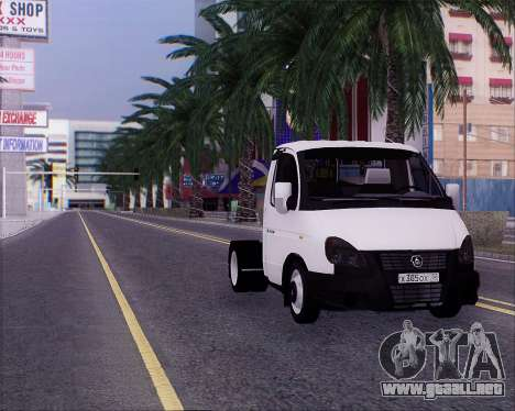 GAZel 3302 para la visión correcta GTA San Andreas