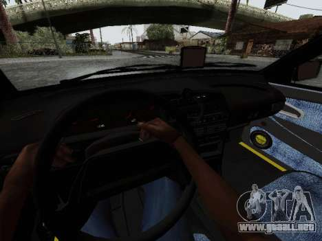 VAZ 2114 TMK afterburner para visión interna GTA San Andreas