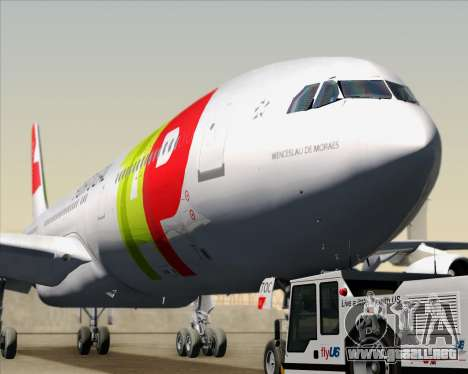 Airbus A340-312 TAP Portugal para visión interna GTA San Andreas