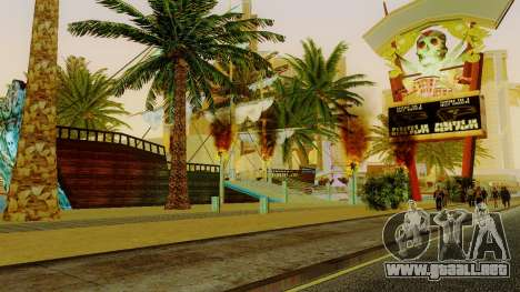 Nuevo barco pirata en Las Venturas para GTA San Andreas quinta pantalla