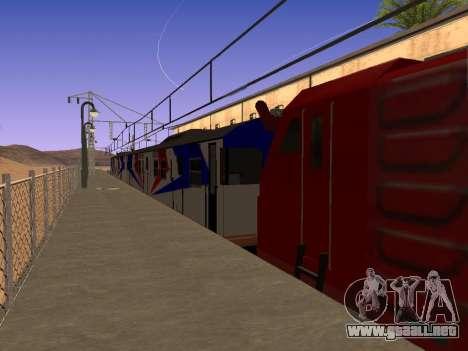 Indonesia tren de diesel de MCW 302 para GTA San Andreas left