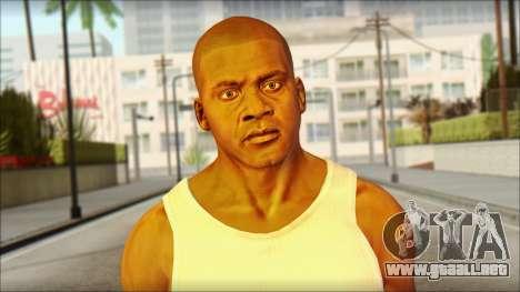 Franklin para GTA San Andreas tercera pantalla