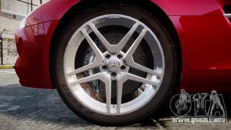 Mercedes-Benz SLS AMG [EPM] para GTA 4 vista hacia atrás