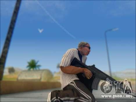 Israel carabina ACE 21 para GTA San Andreas octavo de pantalla