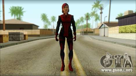 Mass Effect Anna Skin v3 para GTA San Andreas