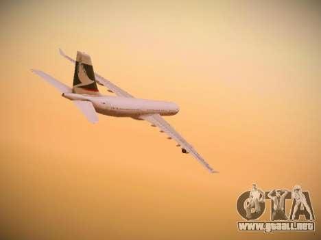 Airbus A340-300 Cathay Pacific para la visión correcta GTA San Andreas
