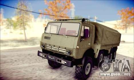 El KamAZ-6350 (APT) para GTA San Andreas