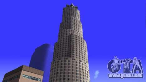 De texturas en HD de cuatro rascacielos en Los S para GTA San Andreas séptima pantalla