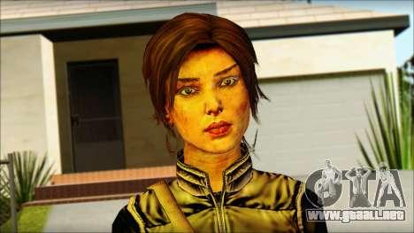 Tomb Raider Skin 1 2013 para GTA San Andreas tercera pantalla