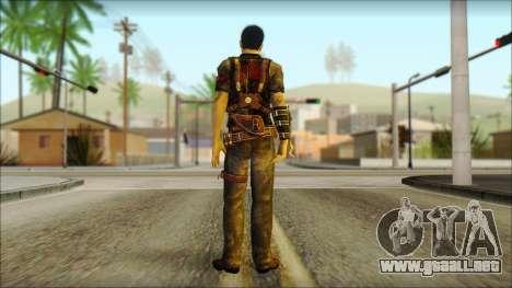Wei Shen From Sleeping Dogs para GTA San Andreas segunda pantalla