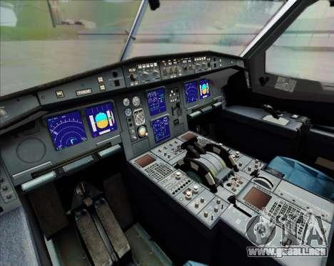 Airbus A340-642 Iberia Airlines para visión interna GTA San Andreas