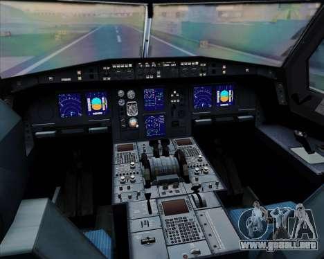 Airbus A330-300 Cathay Pacific para las ruedas de GTA San Andreas