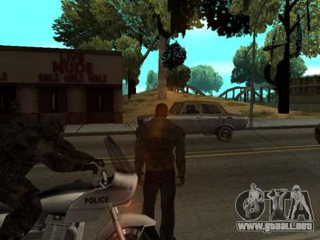 Pantalones de bandido de Stalker para GTA San Andreas tercera pantalla