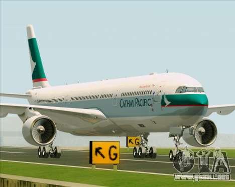 Airbus A330-300 Cathay Pacific para la visión correcta GTA San Andreas