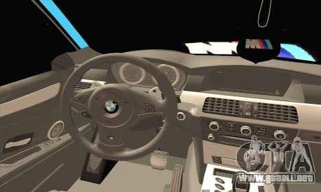 BMW 320i E46 para GTA San Andreas vista posterior izquierda