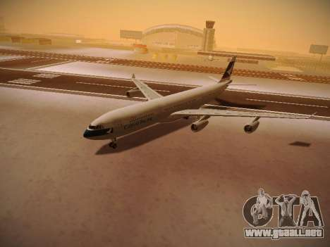Airbus A340-300 Cathay Pacific para vista inferior GTA San Andreas