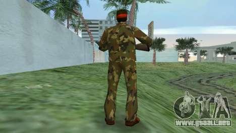 Camo Skin 02 para GTA Vice City tercera pantalla