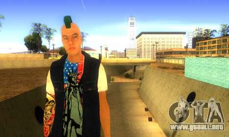 Punk v2 para GTA San Andreas segunda pantalla