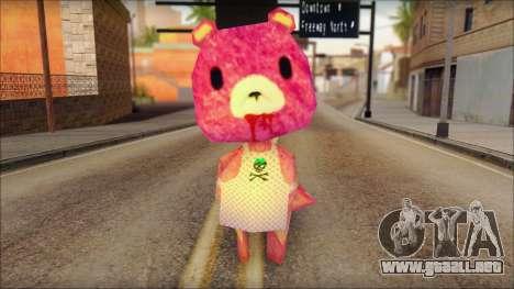 Gloomy the Foxy Bear Ped Skin para GTA San Andreas