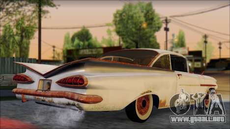 Chevrolet Biscayne 1959 Ratlook para GTA San Andreas left