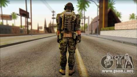 Engineer from BF4 para GTA San Andreas segunda pantalla