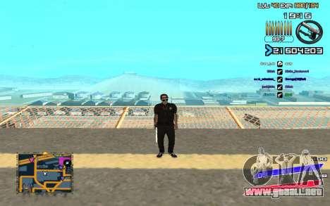 C-HUD by Radion edited SampHack para GTA San Andreas