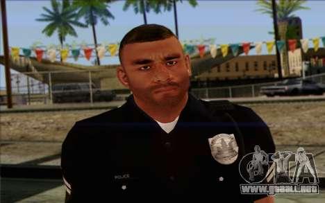La policía (GTA 5) de la Piel 4 para GTA San Andreas tercera pantalla