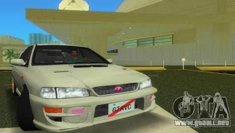 Subaru Impreza WRX STI GC8 Sedan Type 2 para GTA Vice City left