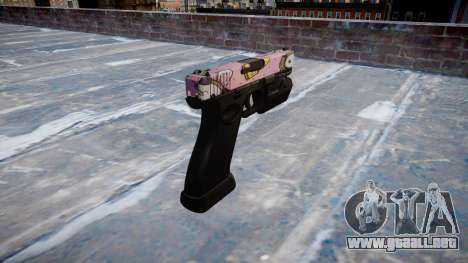 Pistola Glock 20 kawaii para GTA 4 segundos de pantalla