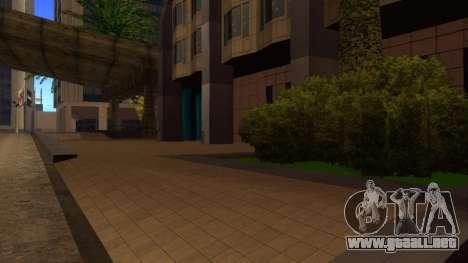 De texturas en HD de cuatro rascacielos en Los S para GTA San Andreas tercera pantalla