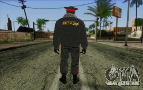 La Policía De Rusia, La Piel De 1 para GTA San Andreas segunda pantalla