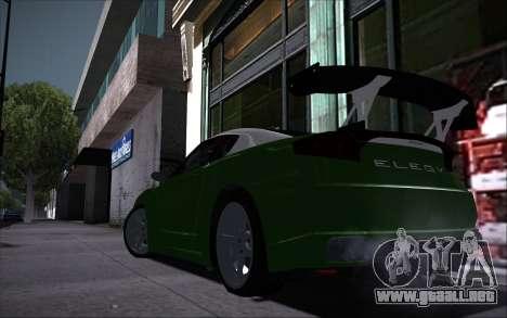 Elegy RH8 Tunable v1 para visión interna GTA San Andreas