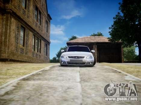 VAZ 2170 para GTA 4 Vista posterior izquierda