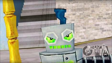 Hamsmp from Sponge Bob para GTA San Andreas sucesivamente de pantalla