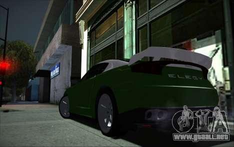 Elegy RH8 Tunable v1 para la visión correcta GTA San Andreas