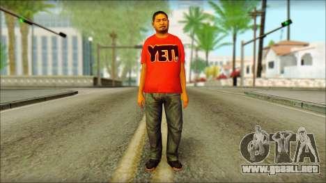 GTA 5 Ped 22 para GTA San Andreas