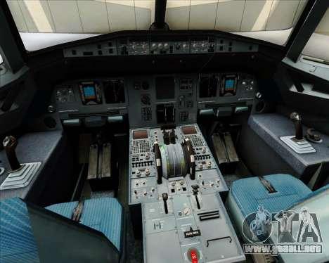 Airbus A320-200 Air Australia para GTA San Andreas interior