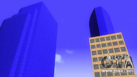 De texturas en HD de cuatro rascacielos en Los S para GTA San Andreas sexta pantalla