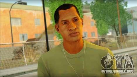 GTA 5 Soldier v3 para GTA San Andreas tercera pantalla