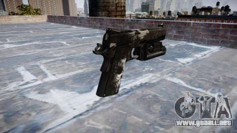 Pistola De Kimber 1911 Fantasmas para GTA 4 segundos de pantalla