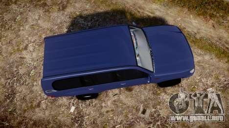 Toyota Land Cruiser para GTA 4 visión correcta