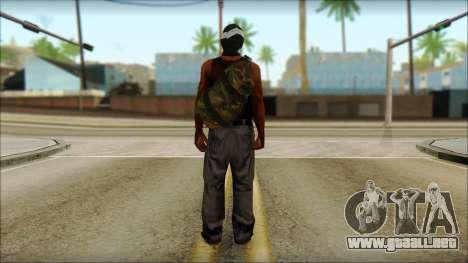 Rob v2 para GTA San Andreas segunda pantalla