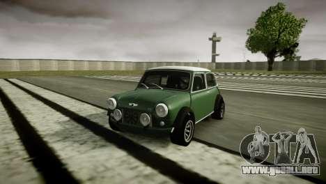 Mini Cooper RWD para GTA 4