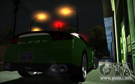 Elegy RH8 Tunable v1 para GTA San Andreas left